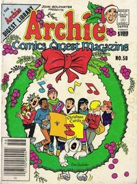 Cover Thumbnail for Archie Comics Digest (Archie, 1973 series) #58