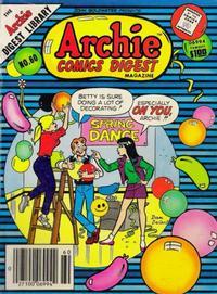 Cover Thumbnail for Archie Comics Digest (Archie, 1973 series) #60
