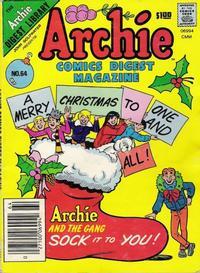 Cover Thumbnail for Archie Comics Digest (Archie, 1973 series) #64