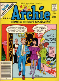 Cover Thumbnail for Archie Comics Digest (Archie, 1973 series) #69