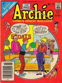 Cover Thumbnail for Archie Comics Digest (Archie, 1973 series) #73