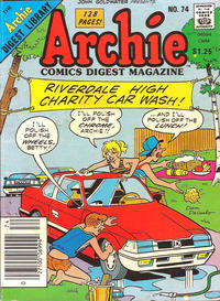 Cover Thumbnail for Archie Comics Digest (Archie, 1973 series) #74