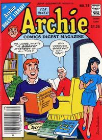 Cover Thumbnail for Archie Comics Digest (Archie, 1973 series) #75