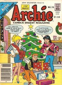 Cover Thumbnail for Archie Comics Digest (Archie, 1973 series) #76