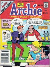 Cover Thumbnail for Archie Comics Digest (Archie, 1973 series) #77