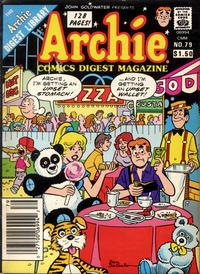 Cover Thumbnail for Archie Comics Digest (Archie, 1973 series) #79