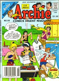 Cover Thumbnail for Archie Comics Digest (Archie, 1973 series) #80 [Canadian]