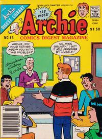Cover Thumbnail for Archie Comics Digest (Archie, 1973 series) #84