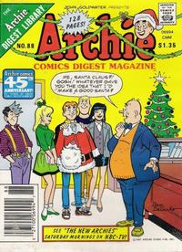Cover Thumbnail for Archie Comics Digest (Archie, 1973 series) #88