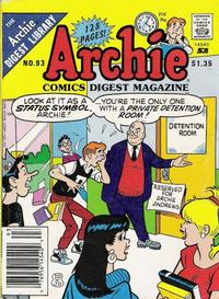 Cover Thumbnail for Archie Comics Digest (Archie, 1973 series) #93