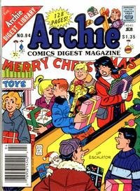 Cover Thumbnail for Archie Comics Digest (Archie, 1973 series) #94