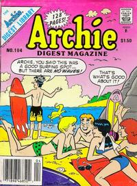 Cover Thumbnail for Archie Comics Digest (Archie, 1973 series) #104