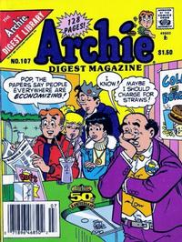 Cover Thumbnail for Archie Comics Digest (Archie, 1973 series) #107