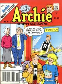 Cover Thumbnail for Archie Comics Digest (Archie, 1973 series) #111