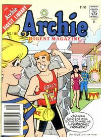 Cover Thumbnail for Archie Comics Digest (Archie, 1973 series) #116