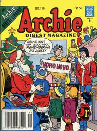 Cover Thumbnail for Archie Comics Digest (Archie, 1973 series) #119