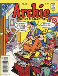 Cover Thumbnail for Archie Comics Digest (Archie, 1973 series) #121 [Newsstand]