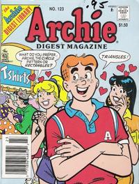 Cover Thumbnail for Archie Comics Digest (Archie, 1973 series) #123
