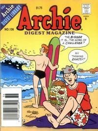 Cover Thumbnail for Archie Comics Digest (Archie, 1973 series) #136