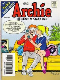 Cover Thumbnail for Archie Comics Digest (Archie, 1973 series) #138