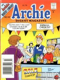 Cover Thumbnail for Archie Comics Digest (Archie, 1973 series) #143