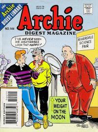 Cover Thumbnail for Archie Comics Digest (Archie, 1973 series) #144