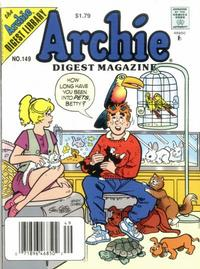 Cover Thumbnail for Archie Comics Digest (Archie, 1973 series) #149