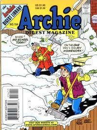 Cover Thumbnail for Archie Comics Digest (Archie, 1973 series) #154