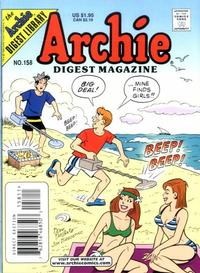 Cover Thumbnail for Archie Comics Digest (Archie, 1973 series) #158
