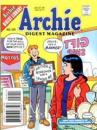 Cover Thumbnail for Archie Comics Digest (Archie, 1973 series) #159