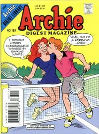 Cover Thumbnail for Archie Comics Digest (Archie, 1973 series) #165