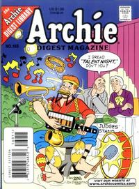 Cover Thumbnail for Archie Comics Digest (Archie, 1973 series) #169 [Direct Edition]