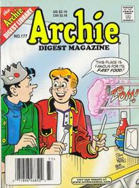 Cover Thumbnail for Archie Comics Digest (Archie, 1973 series) #177