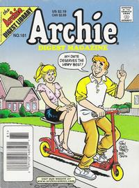 Cover Thumbnail for Archie Comics Digest (Archie, 1973 series) #181