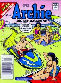 Cover Thumbnail for Archie Comics Digest (Archie, 1973 series) #182