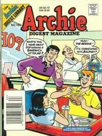 Cover Thumbnail for Archie Comics Digest (Archie, 1973 series) #183