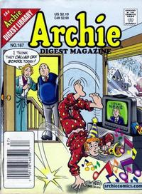 Cover Thumbnail for Archie Comics Digest (Archie, 1973 series) #187
