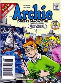 Cover Thumbnail for Archie Comics Digest (Archie, 1973 series) #189
