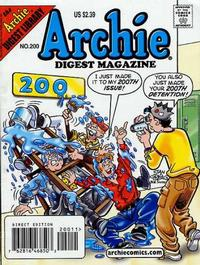 Cover Thumbnail for Archie Comics Digest (Archie, 1973 series) #200 [Direct Edition]