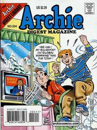 Cover Thumbnail for Archie Comics Digest (Archie, 1973 series) #204