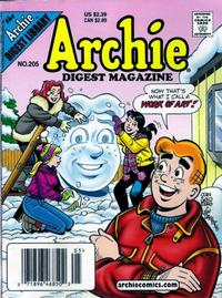 Cover Thumbnail for Archie Comics Digest (Archie, 1973 series) #205