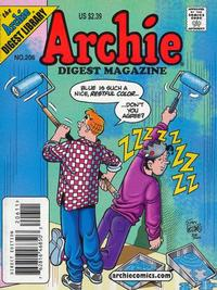 Cover Thumbnail for Archie Comics Digest (Archie, 1973 series) #206 [Direct Edition]