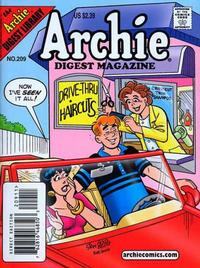 Cover Thumbnail for Archie Comics Digest (Archie, 1973 series) #209 [Direct Edition]
