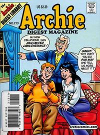 Cover Thumbnail for Archie Comics Digest (Archie, 1973 series) #213