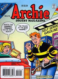 Cover Thumbnail for Archie Comics Digest (Archie, 1973 series) #215 [Direct]