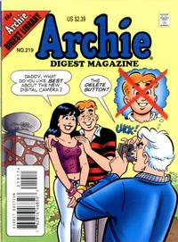 Cover Thumbnail for Archie Comics Digest (Archie, 1973 series) #219