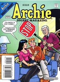 Cover Thumbnail for Archie Comics Digest (Archie, 1973 series) #224 [Direct Edition]