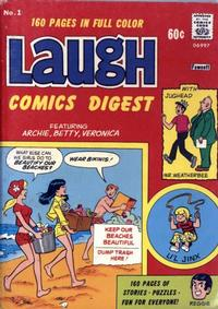 Cover Thumbnail for Laugh Comics Digest (Archie, 1974 series) #1