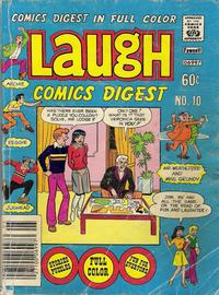 Cover Thumbnail for Laugh Comics Digest (Archie, 1974 series) #10