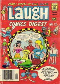 Cover for Laugh Comics Digest (Archie, 1974 series) #13